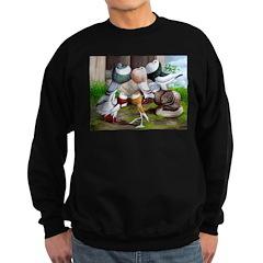 Six Pouter Pigeons Sweatshirt