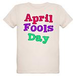 April Fool's Day Organic Kids T-Shirt