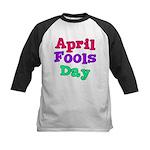 April Fool's Day Kids Baseball Jersey