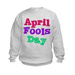 April Fool's Day Kids Sweatshirt