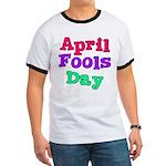 April Fool's Day Ringer T