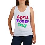 April Fool's Day Women's Tank Top