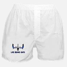 Life Behind Bars Boxer Shorts