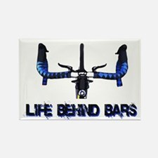 Life Behind Bars Rectangle Magnet (10 pack)
