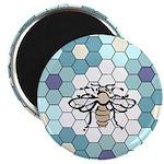 Honeybee & Flowers Magnet