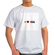 I * Nia Ash Grey T-Shirt
