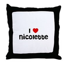 I * Nicolette Throw Pillow