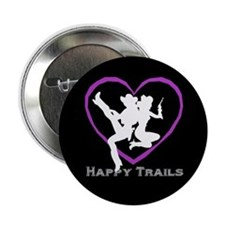 """Happy Trails Lesbians"" 2.25"" Button (10 pack)"