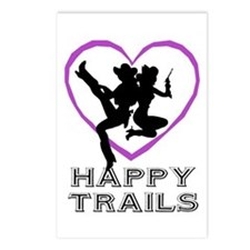 """Happy Trails Lesbians"" Postcards (Package of 8)"