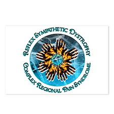 CRPS/RSD Turquoise Blaze Circlet Postcards (Packag