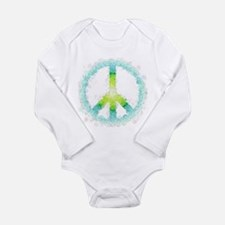 peace Long Sleeve Infant Bodysuit