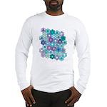 Grandfather's Flower Garden Long Sleeve T-Shirt