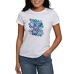 Bright Flower Garden  Women's T-Shirt