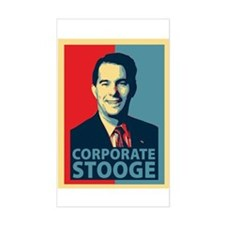 Scott Walker Corporate Stooge Decal