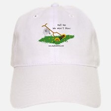 We Won't Mow - Baseball Baseball Cap