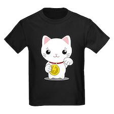 Maneki Neko - White Lucky Cat T