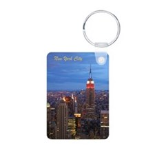 New York City Keychain / Aluminum, 2 Sides