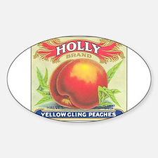 Unique Fruit crate Sticker (Oval)