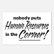 HR Nobody Corner Postcards (Package of 8)