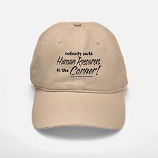 HR Nobody Corner Baseball Baseball Cap