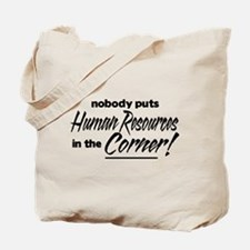 HR Nobody Corner Tote Bag