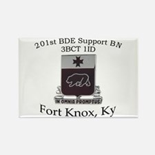 201st Brigade Support Bn Rectangle Magnet