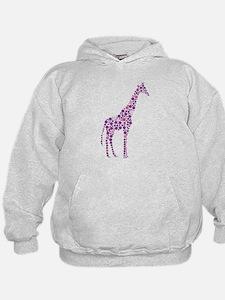Purple Giraffe Hoody