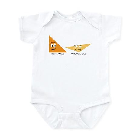 Right Angles Infant Bodysuit