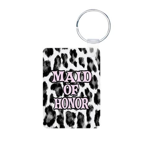 Maid of Honor Aluminum Photo Keychain