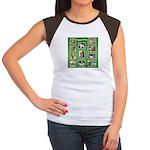 WHEATIE MOMENTS Women's Cap Sleeve T-Shirt