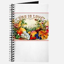 Cool Vintage fruit labels Journal