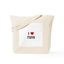 I * Nyla Tote Bag