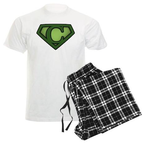 Super Green C Men's Light Pajamas
