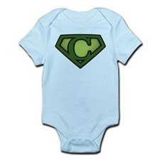Super Green C Infant Bodysuit