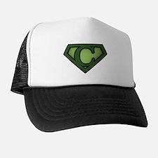 Super Green C Trucker Hat