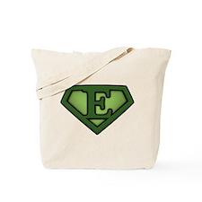 Super Green E Tote Bag
