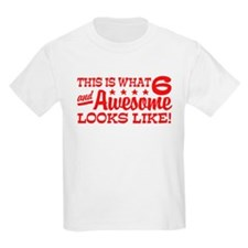 Funny Six Year Old T-Shirt