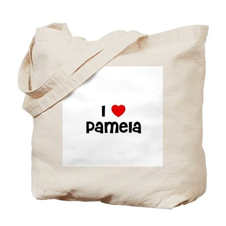 I * Pamela Tote Bag