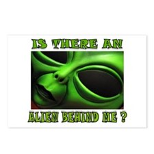 ALIEN FOR SURE Postcards (Package of 8)