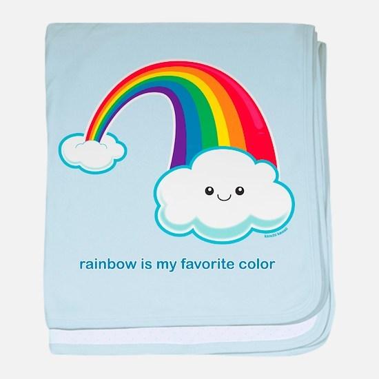 Rainbow! baby blanket