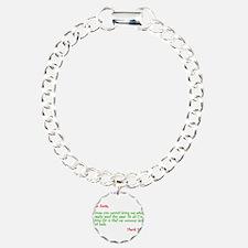 Dear Santa:Keep Mommy Safe Bracelet