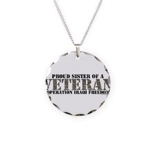 Operation Iraqi Freedom Necklace