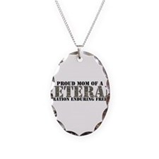 Operation Enduring Freedom (A Necklace Oval Charm