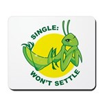 Single Girl Mousepad