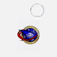 Unique Startrektv united federation Keychains