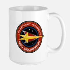 Star Trek Starfleet Academy Red Squadron Mugs