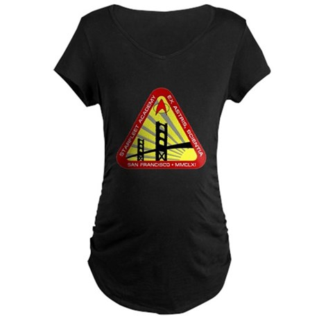 Star Fleet Academy Maternity Dark T-Shirt