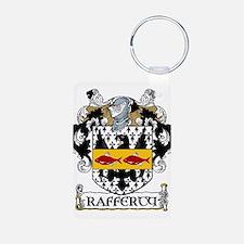 Rafferty Coat of Arms Aluminum Photo Keychain