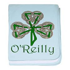 O'Reilly Shamrock baby blanket
