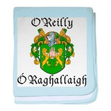O'Reilly In Irish & English baby blanket